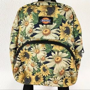 RARE Sunflower Daisies S Dickies Backpack Purse